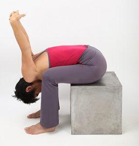 exercice de flexibilité de la zone scapulaire