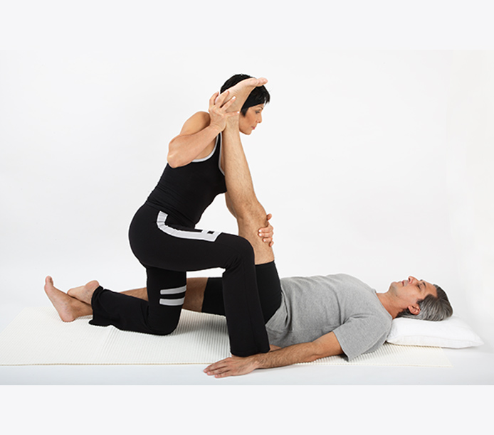 exercice de stretch massage